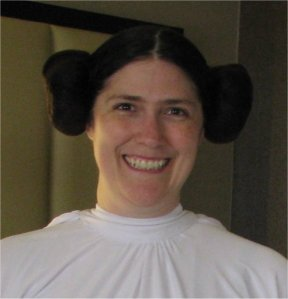 Ericka with Leia Hair